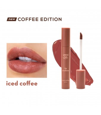 Happy Skin Lip Mallow Mousse Coffee Edition In Iced Coffee