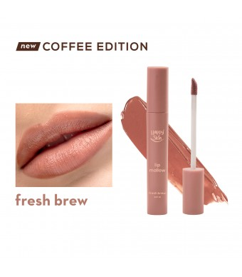 Happy Skin Lip Mallow Mousse Coffee Edition In Fresh Brew
