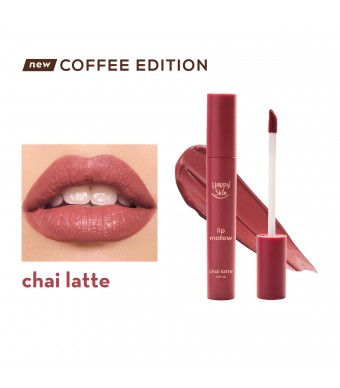 Happy Skin Lip Mallow Mousse Coffee Edition In Chai Latte