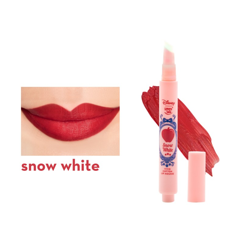 Happy Skin | Disney Vivid Cotton Lip Mousse - Snow White