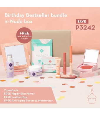 Happy Skin Birthday Bestseller Bundle In Nude Box