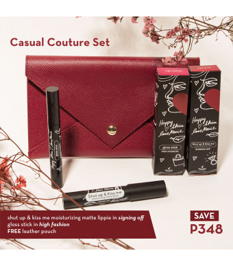 Happy Skin X Love Marie Casual Couture Kit (Matte Lippie + Gloss Stick)