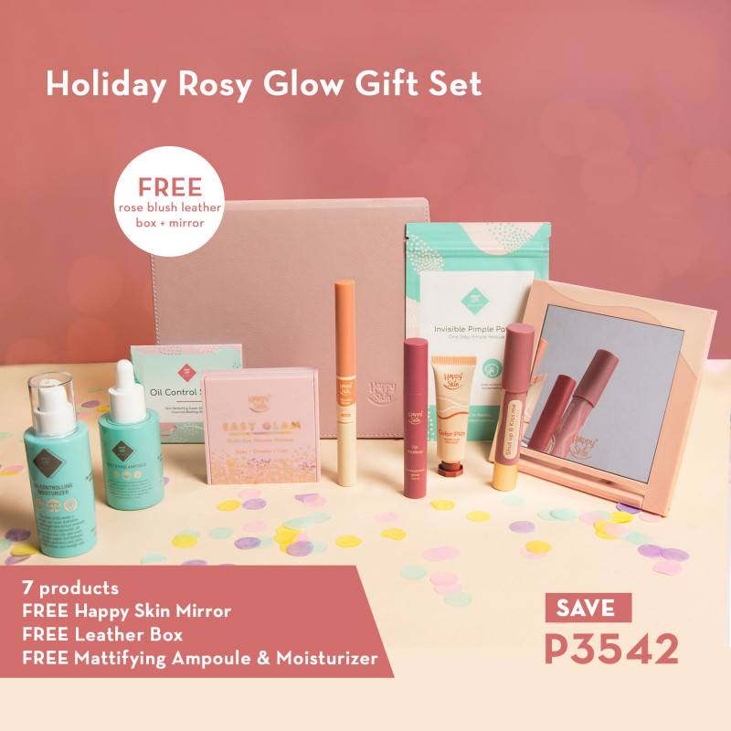 Happy Skin Birthday Bestseller Bundle In Rose Blush Box
