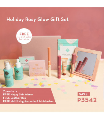 Happy Skin Holiday Rosy Glow Gift Set