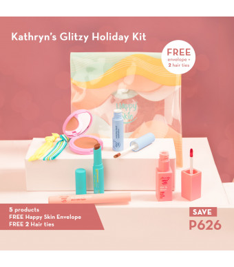Happy Skin x Kathryn's Glitzy Holiday Kit