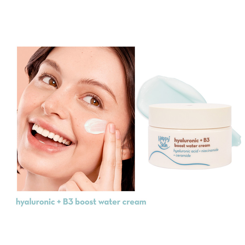 Happy Skin Hyaluronic + B3 Boost Water Cream