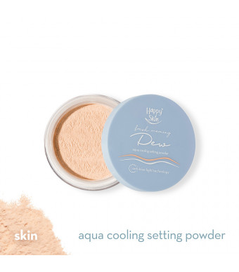 Happy Skin Dew Aqua Cooling Setting Powder In 01 Skin