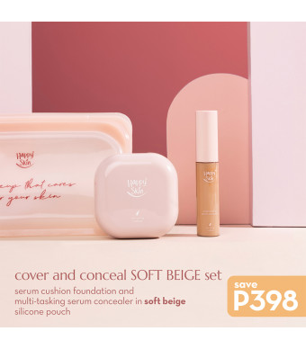 Happy Skin Cover And Conceal Soft Beige Set