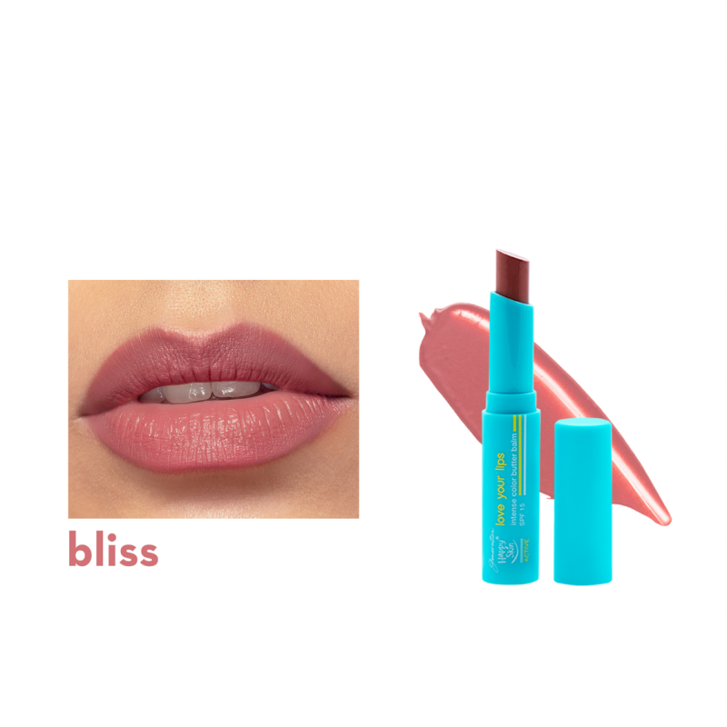 Love Your Lips Intense Color Butter Balm Spf 15 In Bliss