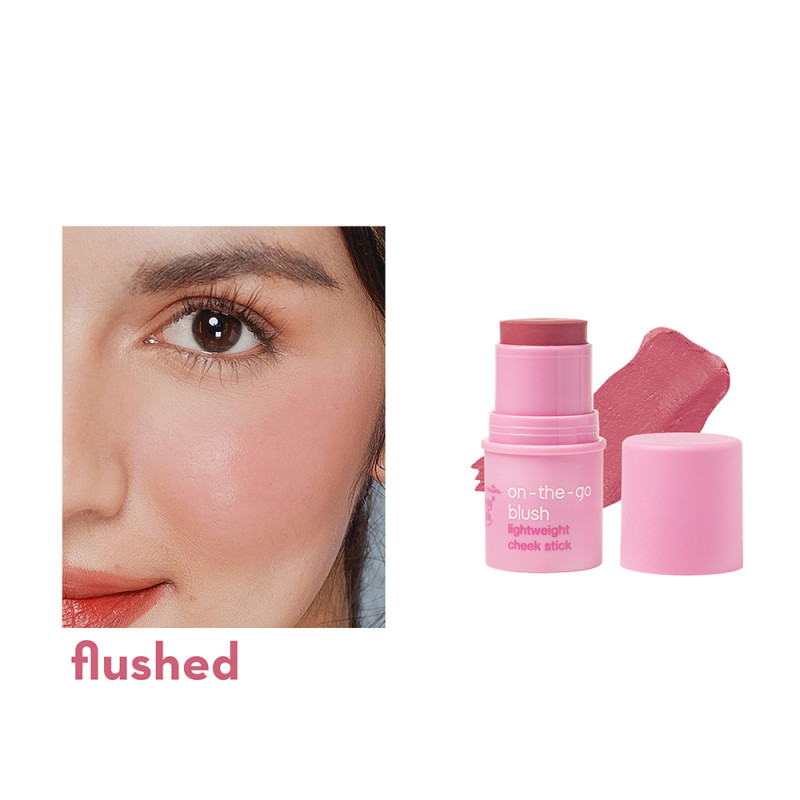 On-The-Go Blush Lightweight Cheek Stick In Flushed