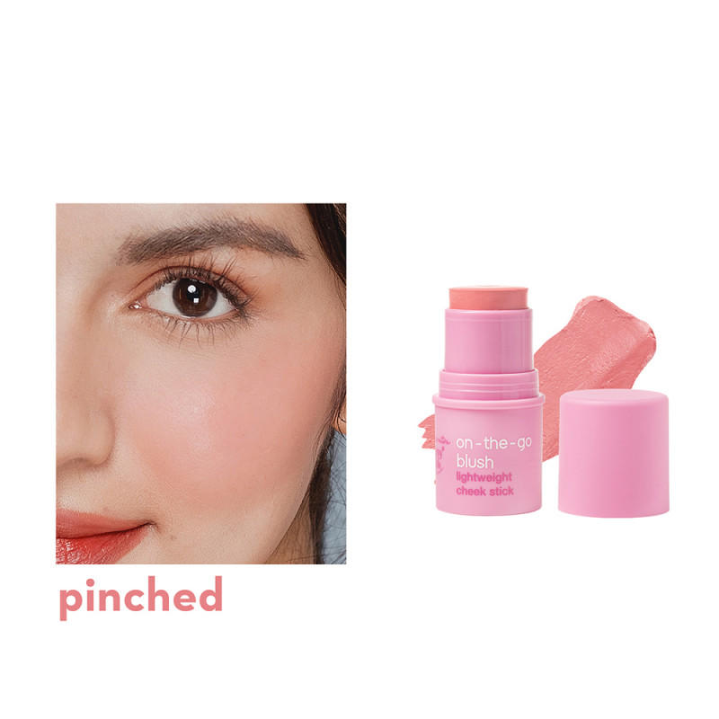 Generation Happy Skin On The Go Blush Lightweight Cheek Stick In Pinched