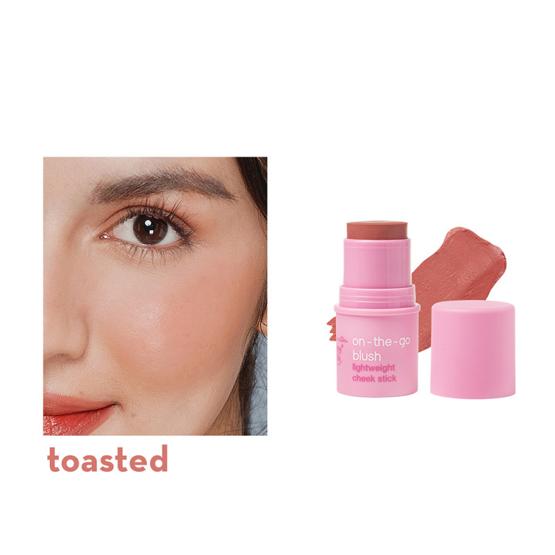 Generation Happy Skin On The Go Blush Lightweight Cheek Stick In Toasted