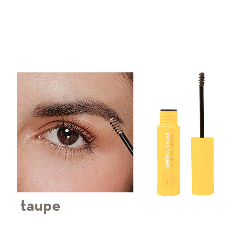 Generation Happy Skin Perfect Brows Eyebrow Mascara In Taupe